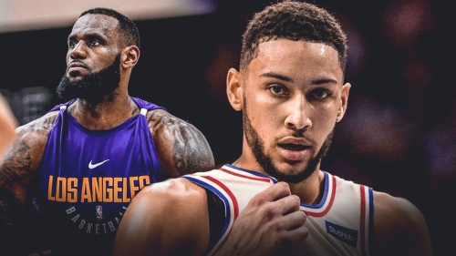 Ben Simmons on missed opportunity being LeBron James' teammate