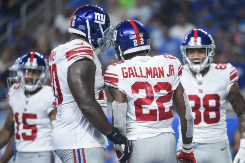 Giants-Lions in pictures: Best photos from Giants' 30-17 victory