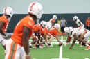 Canes Football Takes the Field