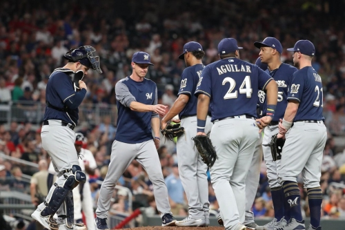 Freddy Peralta isn't the only Brewers pitcher struggling in the first inning