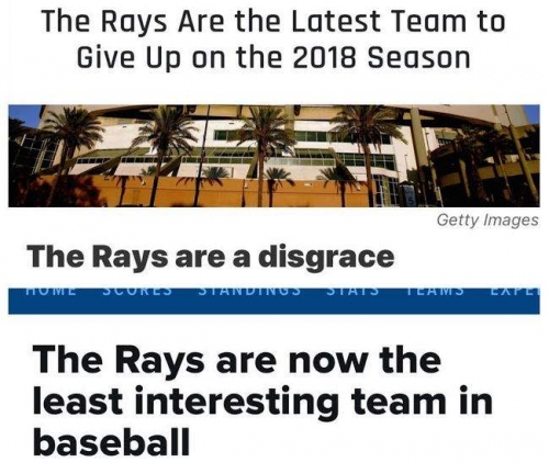 Remember all that Rays hate?
