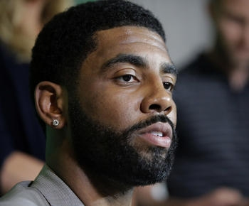 Celtics' Kyrie Irving to visit reservation in North Dakota