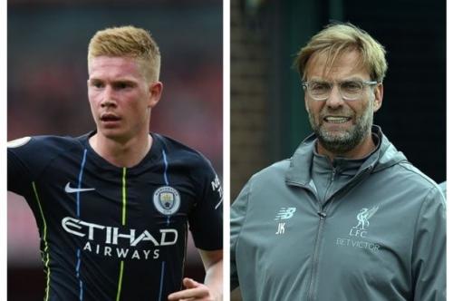 Liverpool boss Jurgen Klopp has perfect response to ridiculous Kevin De Bruyne injury question