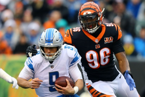 Carlos Dunlap is on the doorstep of being Bengals' most accomplished pass rusher