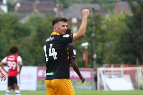 Exeter City 1-1 Newport County: Cardiff City midfielder grabs first senior goal to earn a point