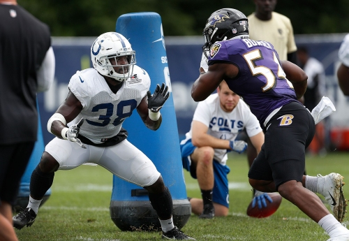 Training camp fights: Indianapolis Colts, Baltimore Ravens can't play nice during practice