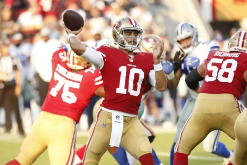 What would be a satisfactory 49ers offensive performance?