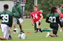 WATCH: Jets' Sam Darnold highlights from Day 14 of camp | Another sharp showing