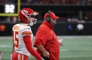 Andy Reid reflects on Patrick Mahomes' 69-yard touchdown and his continuing development