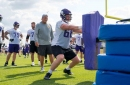 Mike Zimmer says that Cedrick Lang will be going on injured reserve