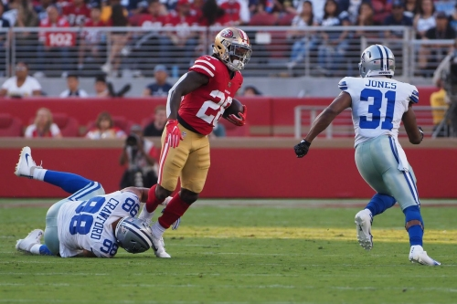 49ers to sit 10 players vs. Texans