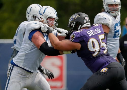 Colts observations: Fight! Colts, Ravens get nasty in final practice
