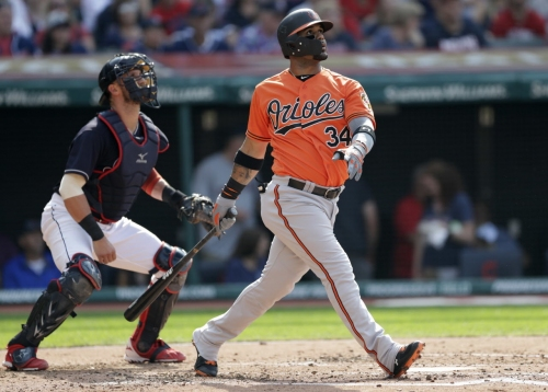 Cleveland Indians' hitters mesmerized by Alex Cobb in 4-2 loss to Baltimore Orioles