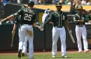 View from the top: A's clobber Astros, move into tie for first in AL West