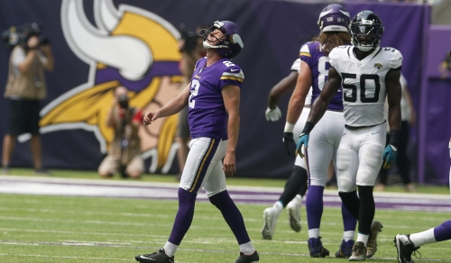 Vikings' Kai Forbath on missed field goal: 'That's a kick I should make'