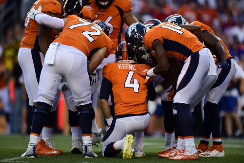 How the Broncos plan to start fast in second preseason game