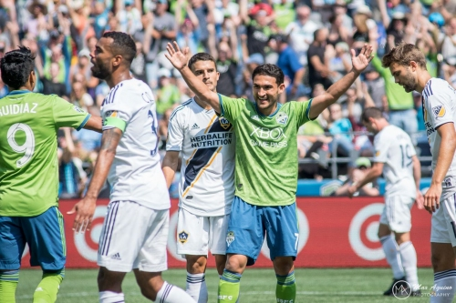 Sounders vs. Galaxy, recap: Seattle moves above the red line