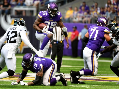 Vikings RB Latavius Murray vows to 'be better' after fumbling twice vs. Jaguars
