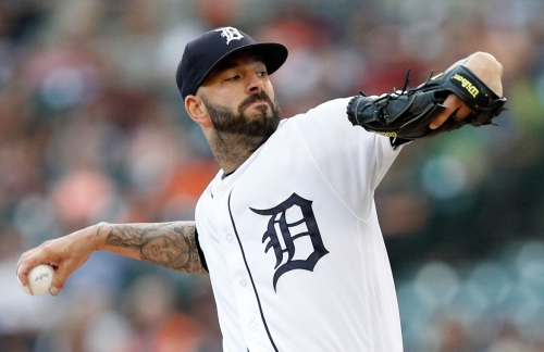 Tigers get sidearmer Nolan Blackwood from A's as part of Fiers deal