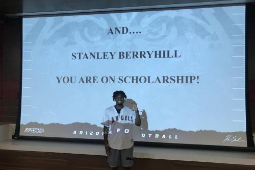 Arizona walk-on WR Stanley Berryhill III awarded a scholarship