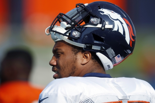 WATCH: Broncos' Bradley Chubb records a safety against the Chicago Bears