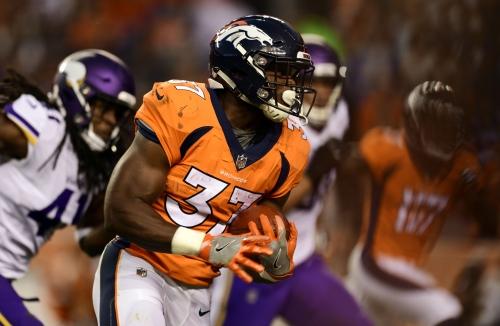WATCH: Broncos' Royce Freeman's touchdown run vs. the Chicago Bears