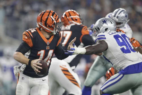5 winners and 6 losers from Bengals vs. Cowboys