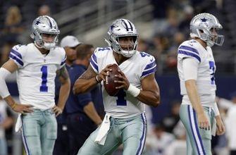 PHOTOS: Prescott sharp, but Cowboys can't hold off Bengals