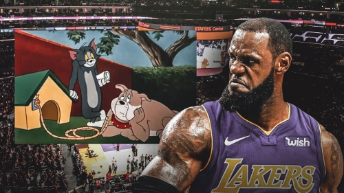 LeBron James uses Tom and Jerry scene to depict relationship with haters