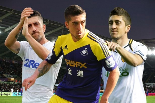 Leeds United's Pablo Hernandez masterminded Swansea City's best-ever display but did he take the easy way out?