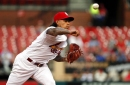 C. Martinez feels 'great' after rehab outing; Wacha appears rusty