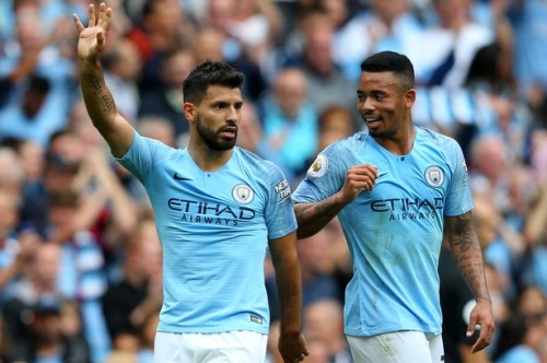 Man City player ratings as Sergio Aguero gets the first maximum of the new season