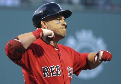 Ian Kinsler, Mitch Moreland not in Boston Red Sox lineup vs. Rays; Blake Swihart catching Hector Velazquez