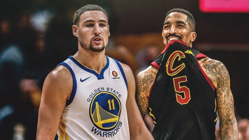 Klay Thompson was thanking J.R. Smith after NBA Finals Game 1 blunder