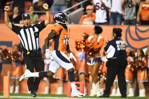 """Vance Joseph hopes the fumble by Isaiah McKenzie doesn't set him back and that """"he just keeps pushing forward"""""""