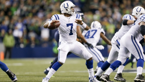 Report: Colts rejected Seahawks' trade offer of 2nd-round pick for Jacoby Brissett