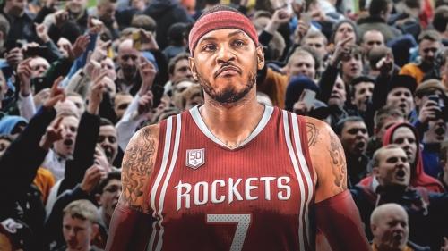 Rockets' Carmelo Anthony gets a brutal fan-made NBA 2K highlight mix