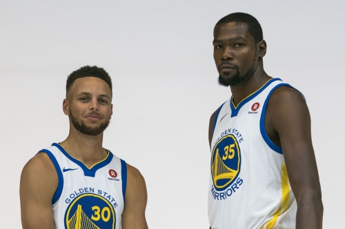 "Steph Curry Calls CJ/KD Beef ""Pure Entertainment"""
