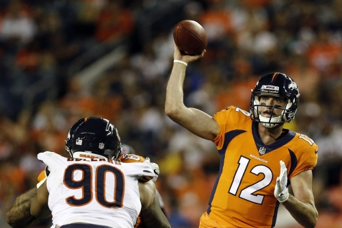 Paxton Lynch: 'I'm never going to quit and I'm working hard'