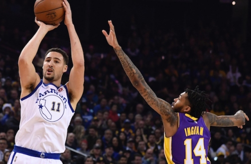 Potential Lakers Target Klay Thompson Intends To Become 2019 Free Agent But Focus Remains On Re-Signing With Warriors