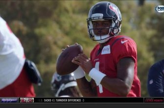 Deshaun Watson is 'Calm Cool and Collected'   Texans Extra Points