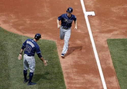 Rays finish trip with 2-0 shutout of Red Sox