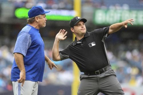 Jays play bad baseball and lose