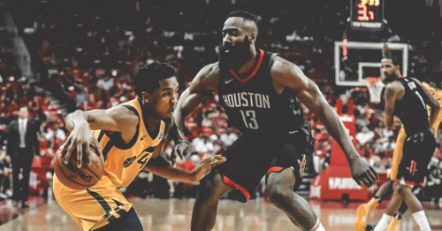 James Harden, Donovan Mitchell show out in charity softball game