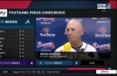 Brian Snitker, Freddie Freeman on Braves' disappointing end to homestand