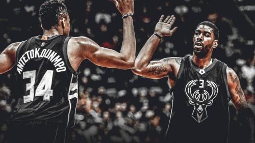 Bucks' Giannis Antetokounmpo says O.J. Mayo 'looks good'