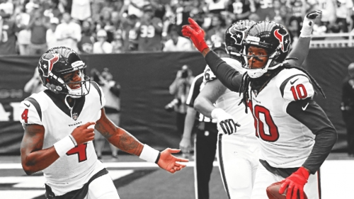 Texans WR DeAndre Hopkins says connection with Deshaun Watson can be 'limitless'