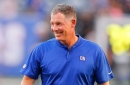 Pat Shurmur explains LB Armstrong's promotion, talks about QBs Bridgewater, Darnold