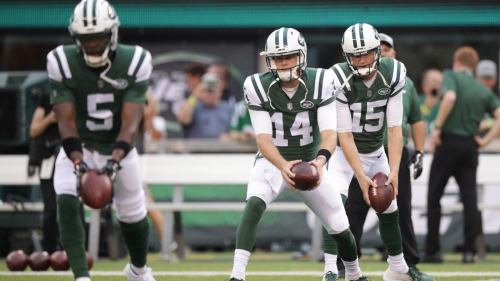 Jets QB Sam Darnold 'trending toward' starting Week 1