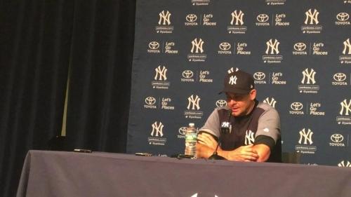 New York Yankees' Aaron Boone on Didi Gregorius injury
